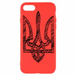 Чехол для iPhone SE 2020 Striped coat of arms