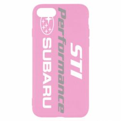 Чехол для iPhone SE 2020 Subaru STI
