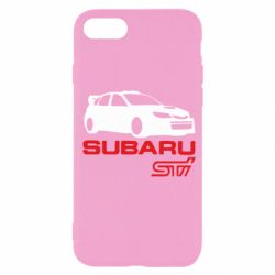 Чохол для iPhone SE 2020 Subaru STI