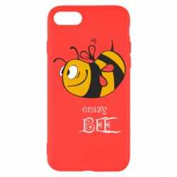 Чехол для iPhone SE 2020 Сумасшедшая пчелка