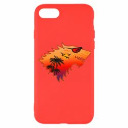 Чехол для iPhone SE 2020 Summer Wolf with glasses Game of Thrones