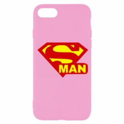 Чехол для iPhone SE 2020 Super Man