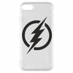 Чохол для iPhone SE 2020 Superhero logo