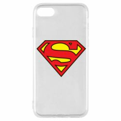 Чехол для iPhone SE 2020 Superman Symbol