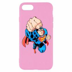 Чохол для iPhone SE 2020 Супермен Комікс