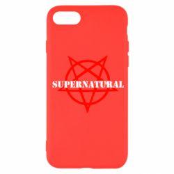 Чехол для iPhone SE 2020 Supernatural