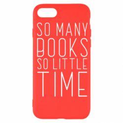 Чохол для iPhone SE 2020 Так багато книг так мало часу