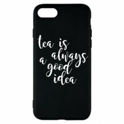 Чохол для iPhone SE 2020 Tea is always a good idea