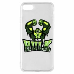 Чехол для iPhone SE 2020 Team hulk