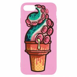 Чехол для iPhone SE 2020 Tentacle ice cream