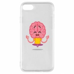 Чохол для iPhone SE 2020 The brain meditates