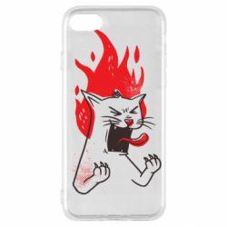 Чохол для iPhone SE 2020 The cat is mad