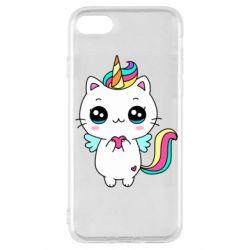 Чохол для iPhone SE 2020 The cat is unicorn