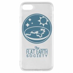 Чехол для iPhone SE 2020 The flat earth society