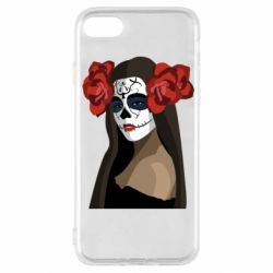 Чохол для iPhone SE 2020 The girl in the image of the day of the dead