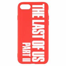 Чехол для iPhone SE 2020 The last of us part 2 logo