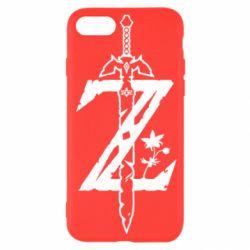 Чехол для iPhone SE 2020 The Legend of Zelda Logo