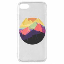Чехол для iPhone SE 2020 The mountains Art