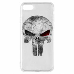 Чехол для iPhone SE 2020 The Punisher Logo