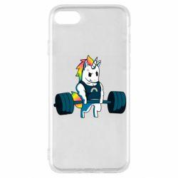 Чохол для iPhone SE 2020 The unicorn is rocking