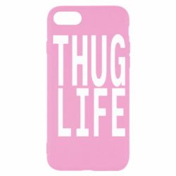Чехол для iPhone SE 2020 thug life