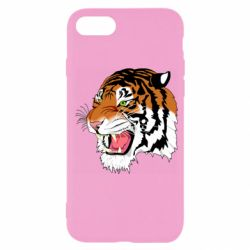 Чохол для iPhone SE 2020 Tiger roars