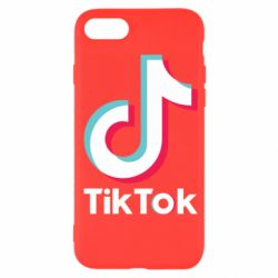 Чехол для iPhone SE 2020 Tiktok logo