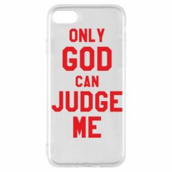 Чохол для iPhone SE 2020 Тільки Бог може судити мене