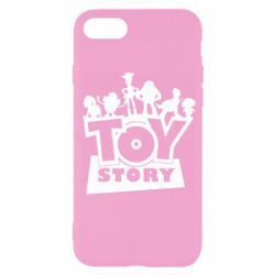 Чехол для iPhone SE 2020 Toy Story and heroes