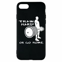 Чехол для iPhone SE 2020 Train Hard or Go Home