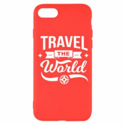 Чехол для iPhone SE 2020 Travel the world and compass