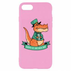 Чехол для iPhone SE 2020 Trex patrick day