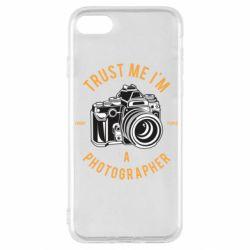 Чохол для iPhone SE 2020 Trust me i'm photographer