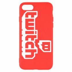 Чохол для iPhone SE 2020 Twitch logotip