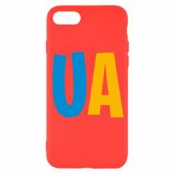 Чехол для iPhone SE 2020 UA Blue and yellow
