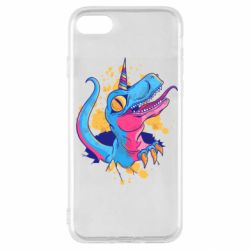 Чехол для iPhone SE 2020 Unicorn dinosaur
