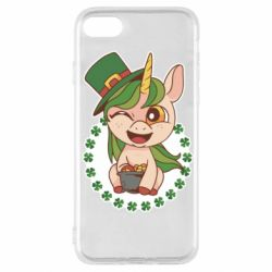 Чехол для iPhone SE 2020 Unicorn patrick day