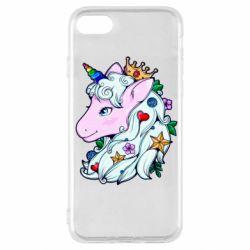 Чохол для iPhone SE 2020 Unicorn Princess