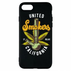 Чохол для iPhone SE 2020 United smokers st relax California