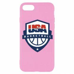 Чехол для iPhone SE 2020 USA basketball