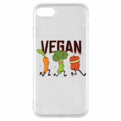 Чохол для iPhone SE 2020 Веган овочі