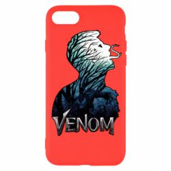 Чохол для iPhone SE 2020 Venom silhouette art