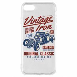 Чохол для iPhone SE 2020 Vintage iron 1986