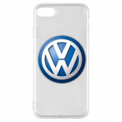 Чехол для iPhone SE 2020 Volkswagen 3D Logo