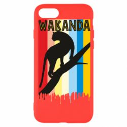 Чохол для iPhone SE 2020 Wakanda black panther