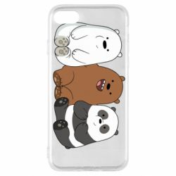 Чехол для iPhone SE 2020 We are ordinary bears
