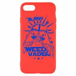 Чехол для iPhone SE 2020 Weed Vader