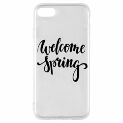 Чохол для iPhone SE 2020 Welcome spring