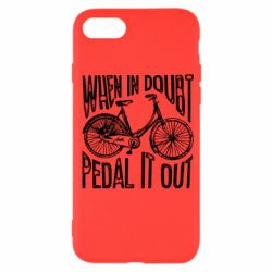 Чохол для iPhone SE 2020 When in doubt pedal it out