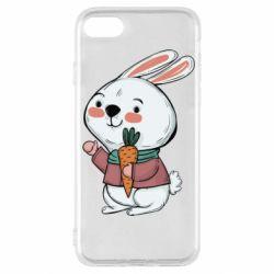 Чохол для iPhone SE 2020 Winter bunny